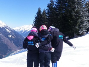 GB Gals at Les Houches